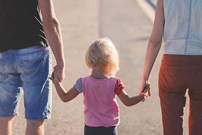 Famiglia in cammino