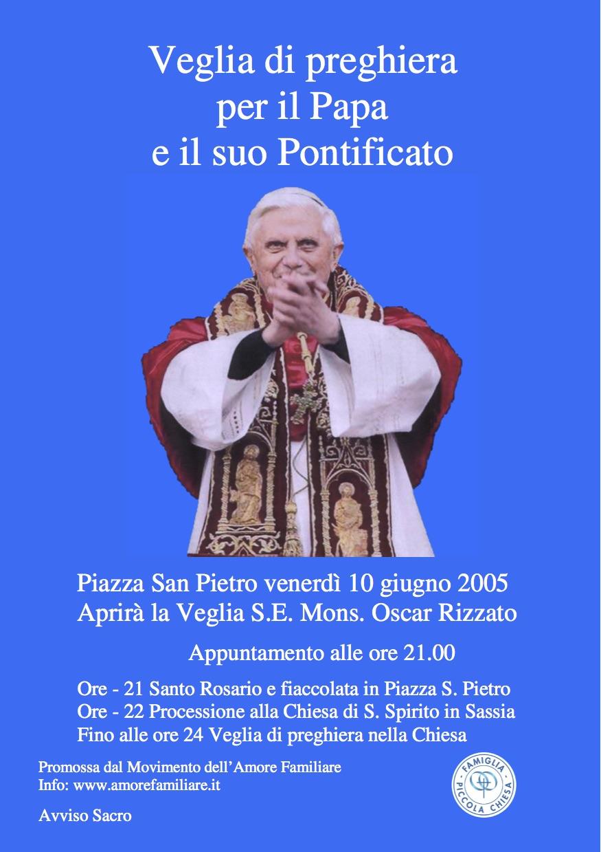 volantino veglia papa 2005
